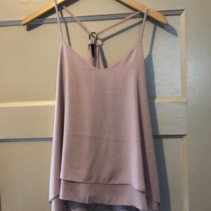 New without tags ...dusty pink flowy tank top